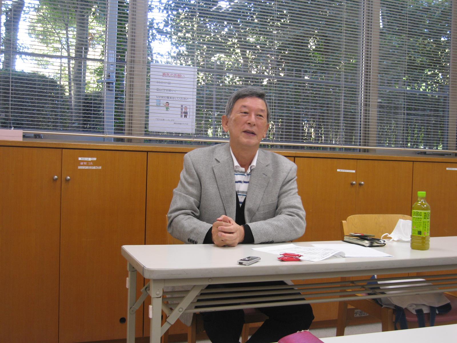 川島千春さんの写真