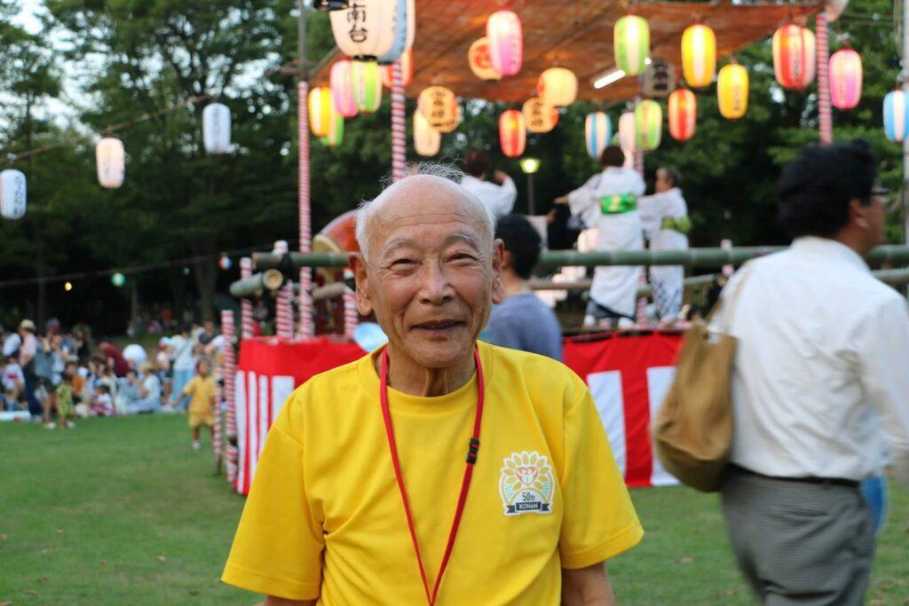 港南台連合自治会長 たかのす自治会長 齊藤 晴通さんの写真